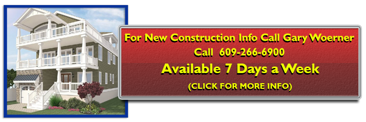 Call Gary Woerner 609 517-4630