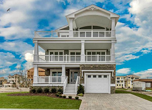 Brigantine Point Properties - Our 3 story Model